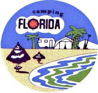 LOGO CAMPING FLORIDA